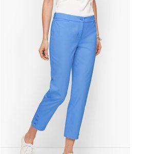 Talbots Perfect Crop Blue Pants Size 12P